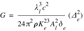 Gravitational Constant - Alternative Form
