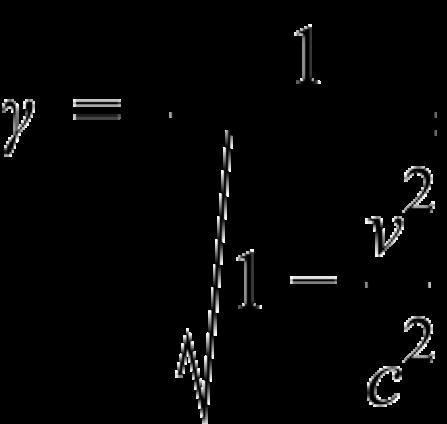 Lorentz factor