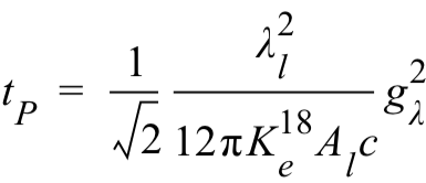 Planck Time Wave Constant Form
